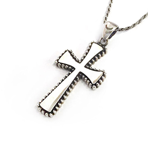 Cross Long Necklace 1