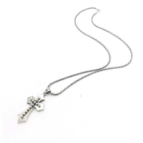 Fleurie Cross Necklace
