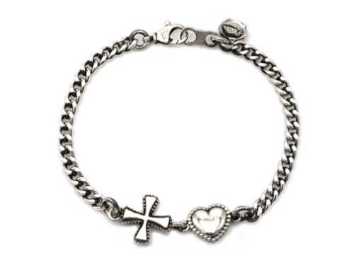 HEART&CROSS CHAIN